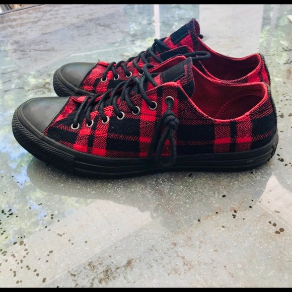 81b3c2f113c8 Converse Shoes - Converse Chuck Taylor All Star Unisex Red Plaid🌶